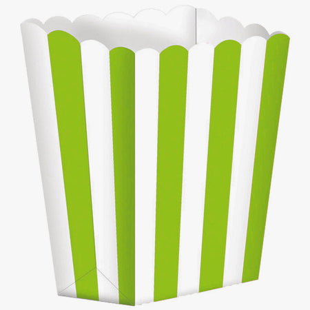 Kiwi Treat Boxes Stripes for gifts (5 pcs)
