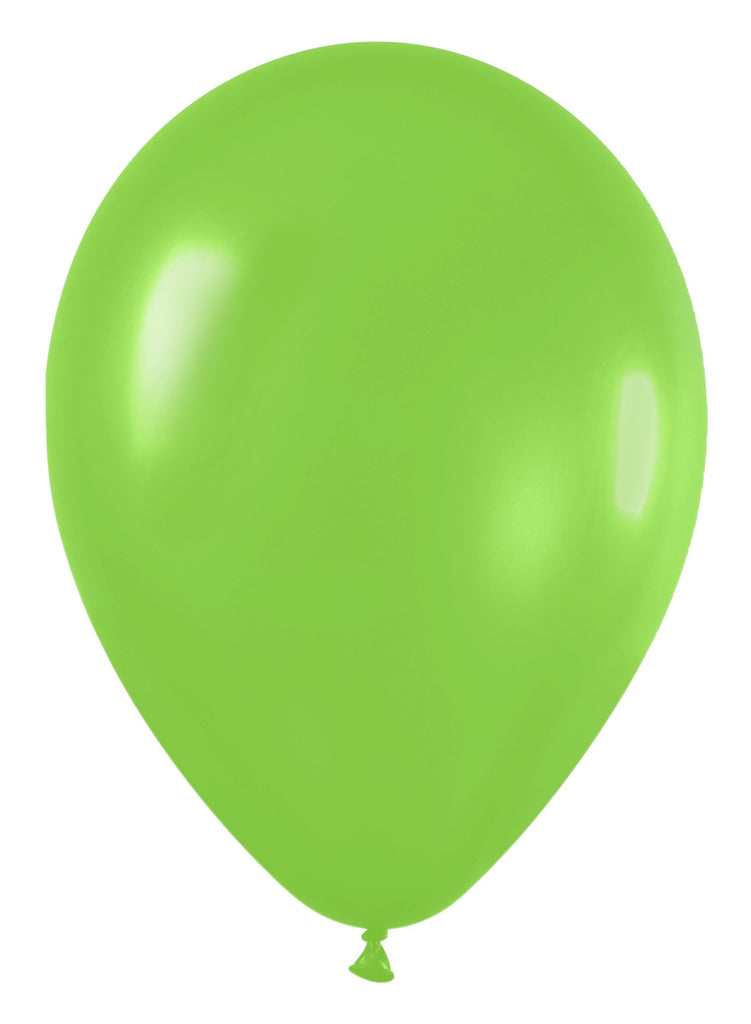 16'' Fashion Solid Lime Green Latex Balloon (50 pieces)