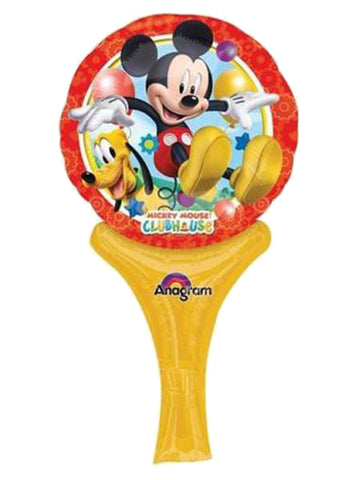 12'' Mini Shape Mickey Mouse Disney Inflate-a-fun Foil Balloon