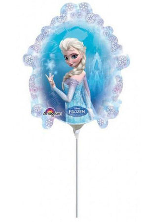 "9"" Mini Shape Frozen Elsa & Anna Foil Balloon"