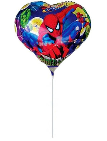7'' Mini Shape Spiderman Foil Balloon