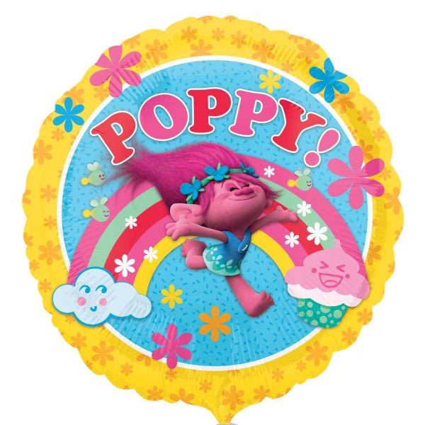 18'' Trolls Poppy Foil Balloon