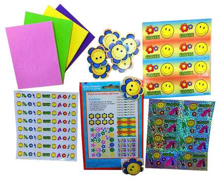 Stickers for decoration Smile Face (240 pcs)