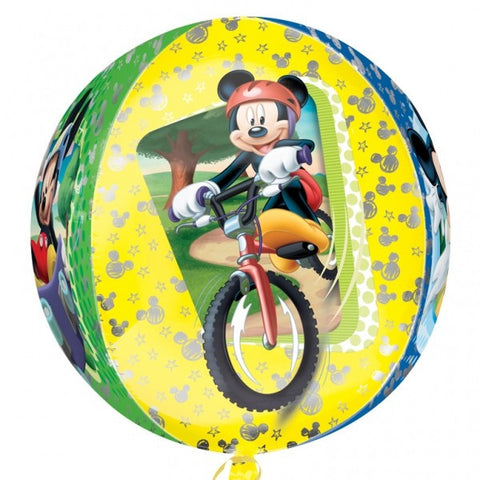 16'' Mickey Mouse bicycle Disney ORBZ Foil Balloon
