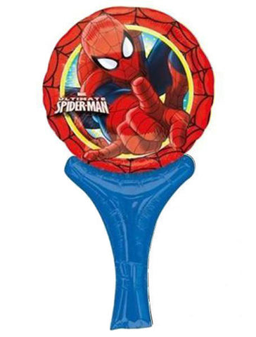 12'' Mini Shape Spiderman Inflate-a-fun Foil Balloon