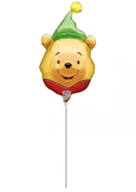 9'' Mini Shape Winnie the pooh hat Foil Balloon