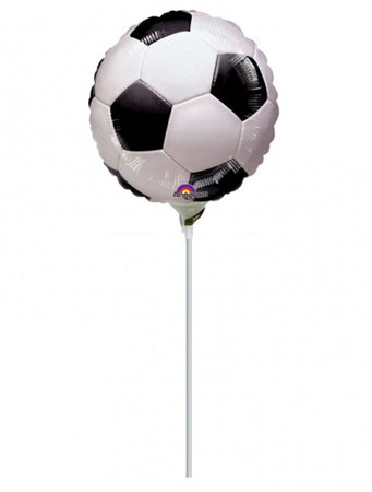 9'' Mini Shape Soccerball Foil Balloon