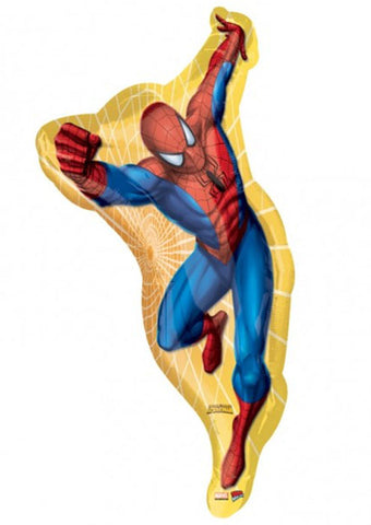 "38"" Spiderman Yellow Foil balloon"
