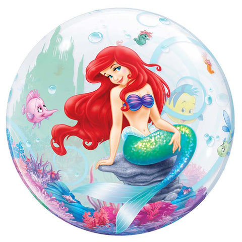 22'' Ariel Disney single Bubble balloon