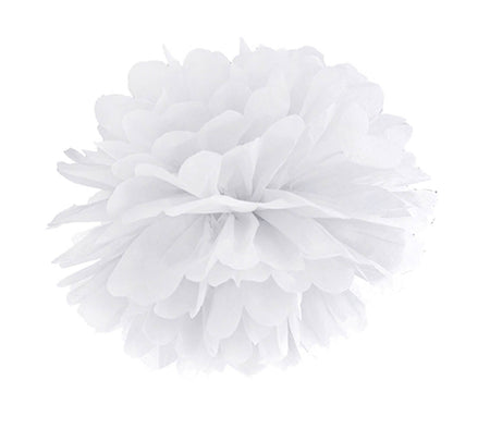 Decorating White Pom - Pom Flower