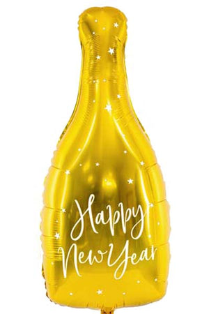 Supershape New Year Bottle foil Balloon