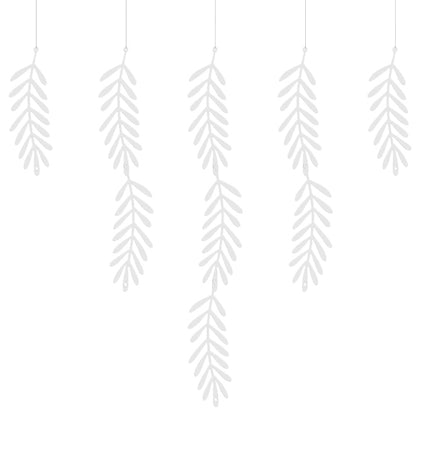 Garland White Branches (20 pcs)