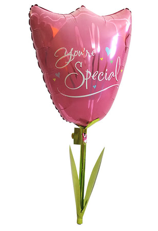 Tulip 'You're Special' Airwalker Foil Balloon