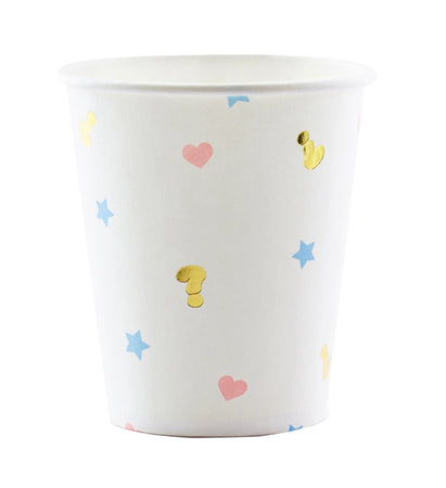 Paper Cups for Baby Shower (6 pcs)