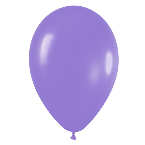 9'' Fashion Solid Lilac Latex Balloon (100 pcs)