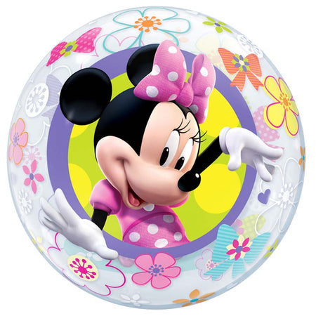 22'' Minnie Mouse single Bubble balloon