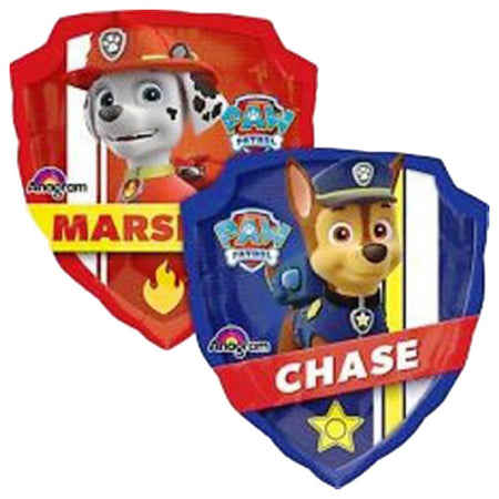 "27"" Paw Patrol Chase & Marshal Foil Balloon"