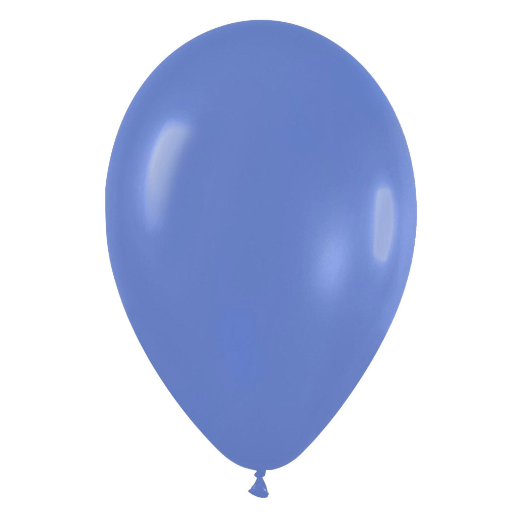9'' Fashion Solid Periwinkle Latex Balloon (100 pcs)