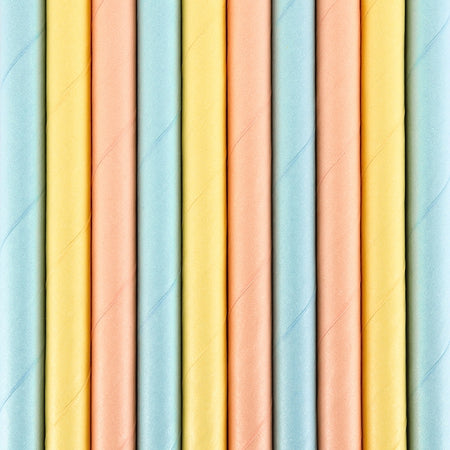 Summertime Paper Straws (10 pcs)
