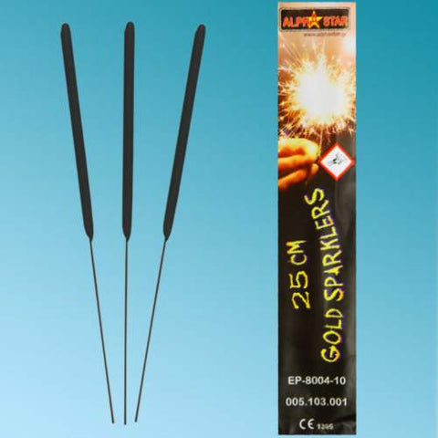10'' Sticks sparkling (10 pcs)