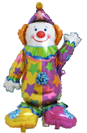 Clown Airwalker Foil Balloon