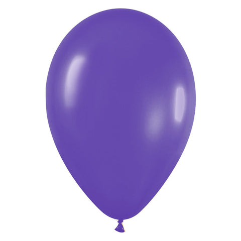 9'' Fashion Solid Violet Latex Balloon (100 pcs)