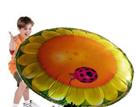 3-Foot Hover Disc Flower foil balloon