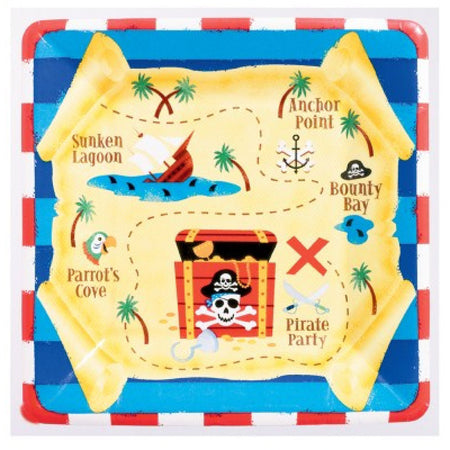 Square Pirates Plates (8 pcs)
