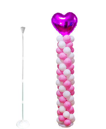 Balloon holder with water base