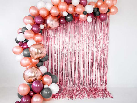 Rosegold party foil Curtain
