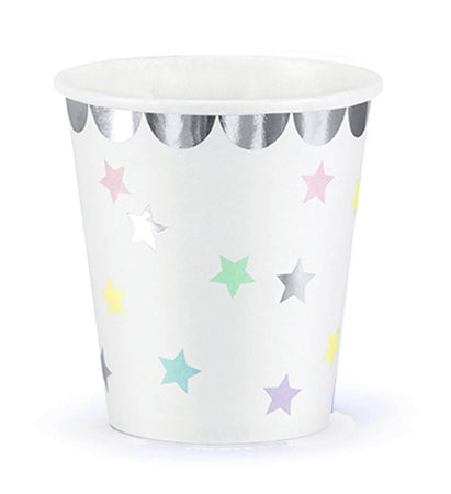 Paper Cups with Stars (6 pcs)