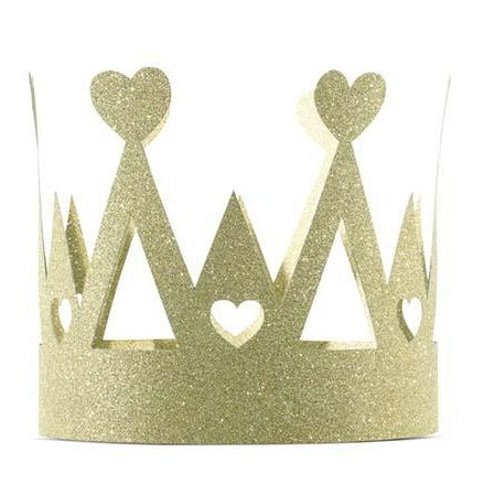 "Crown ""Sweet Love"" with glitter"