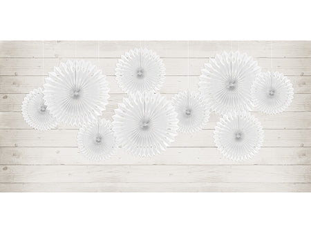 White Tissue fan (3 pcs)