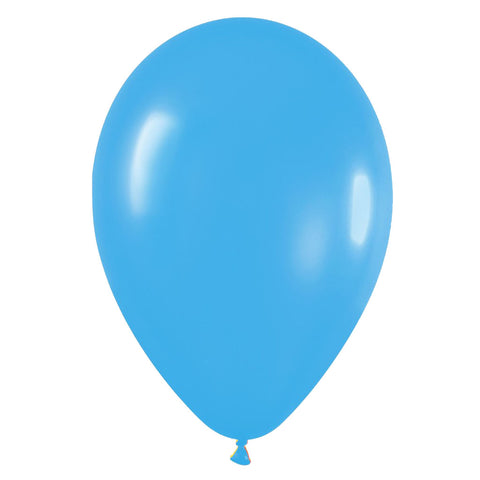 9'' Fashion Solid Blue Latex Balloon (100 pcs)