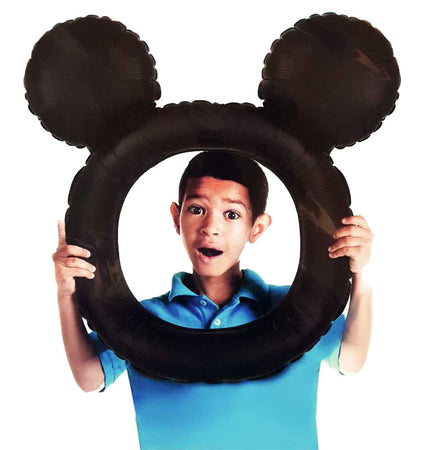 "27"" Selfie Frame Mickey Mouse head Foil Balloon"