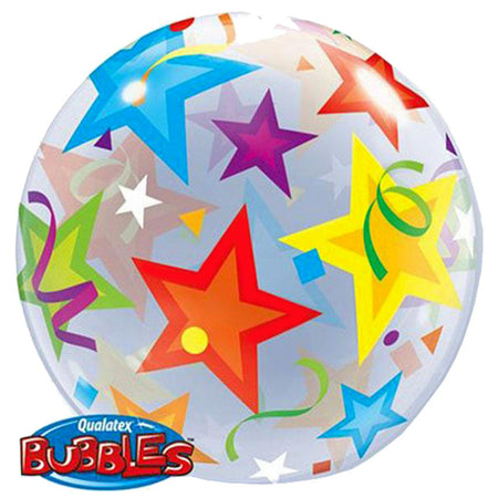 22'' Stars single Bubble balloon