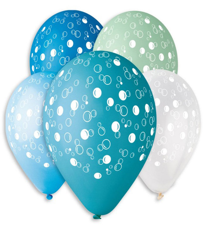 13'' Printed Bubbles Latex Balloon (25 pcs)