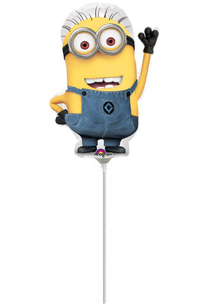 9'' Mini Shape Minions Foil Balloon