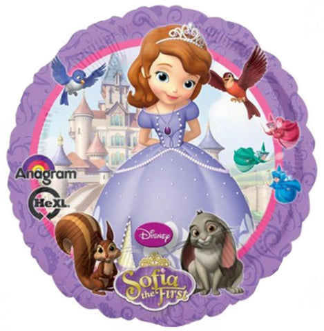 18'' Princess Sofia Disney Foil Balloon