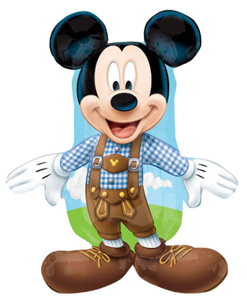 "38"" Mickey Mouse Disney lederhozen Foil Balloon"