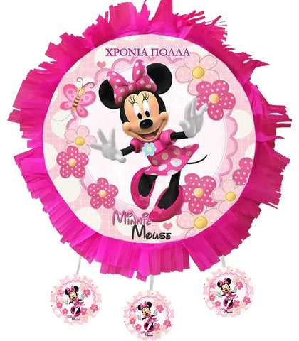 Handmade Minnie Mouse Pinata