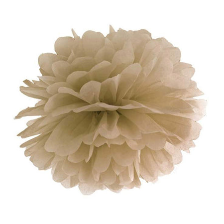 Decorating caramel Pom - Pom  flower