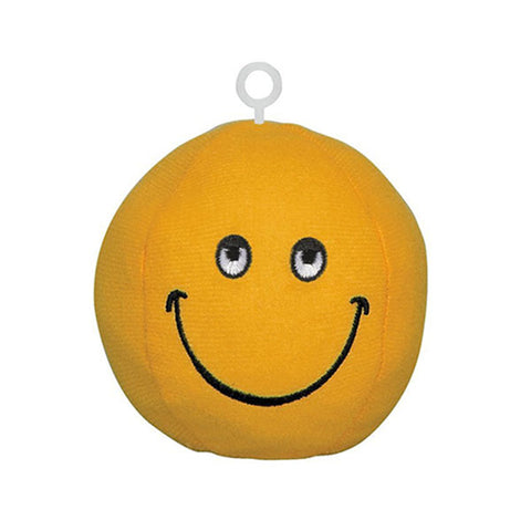 Smile face weight for balloons orange