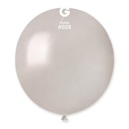 19'' Pearl Latex Balloon (50 pieces)