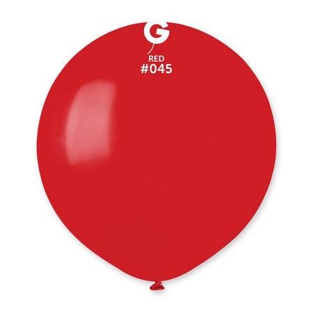 19'' Red Latex Balloon (50 pieces)