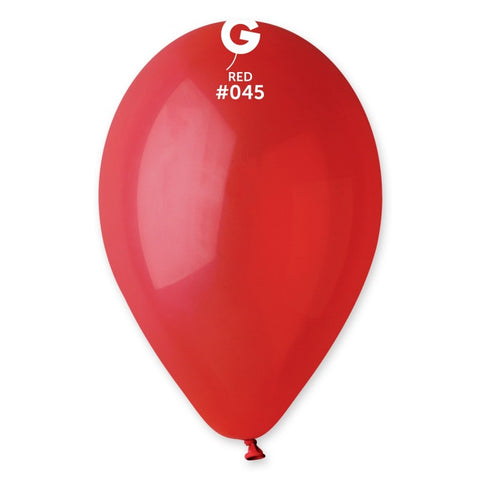 9'' Red Latex Balloon (100 pcs)