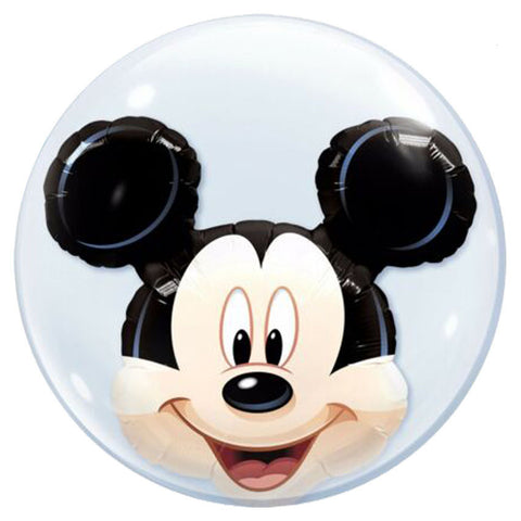 24'' Mickey Mouse double Bubble balloon