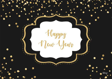 Paper placemat Happy New Year