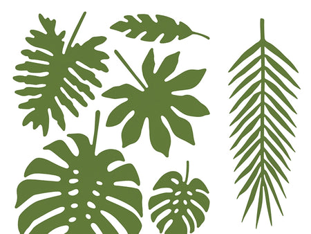Decorations Aloha - Tropical leaves (27 pcs)