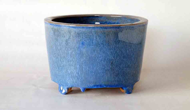 Tube Type Bonsai Pot in Sky Blue By Shuuhou +++Shipping Free!